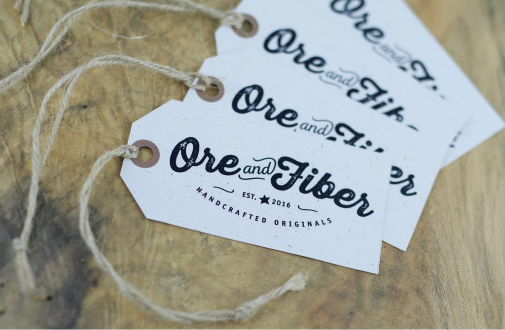 Ore and Fiber - Brand Development
