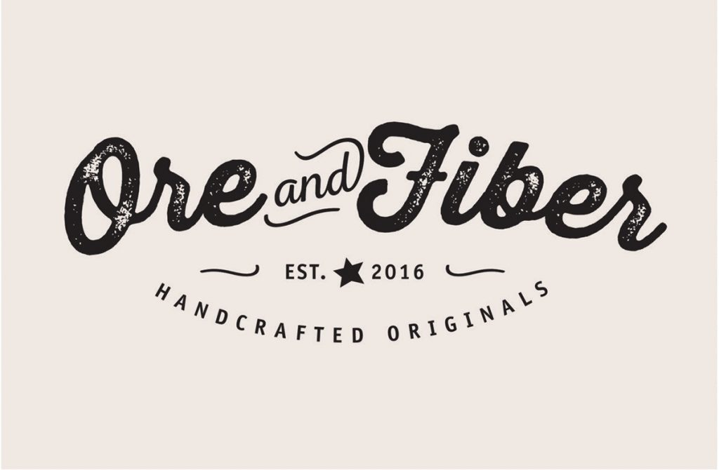 Ore and Fiber - Logo